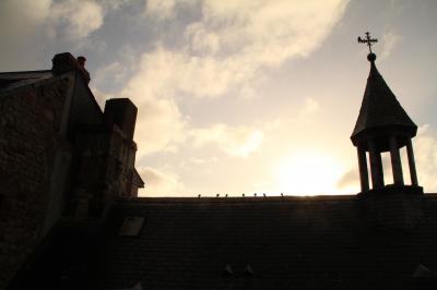 今更ながら憧れの初フランス旅【7】 -- 朝のモンサンミシェルを堪能!!<2日目> --