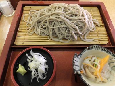 青春18きっぷで 新潟へ!へぎそばを食べに行く。