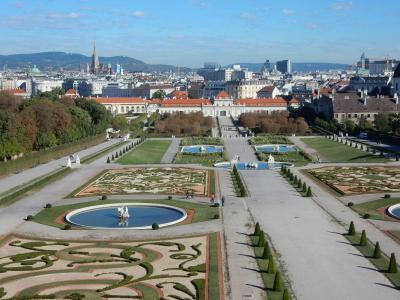 20年ぶりに訪れた秋のウィーン④(ベルヴェデーレ宮殿・モーツァルトハウス)