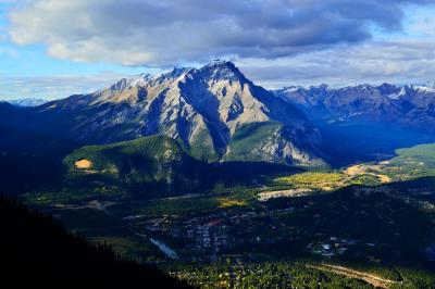 カナダ(2) サルファー山