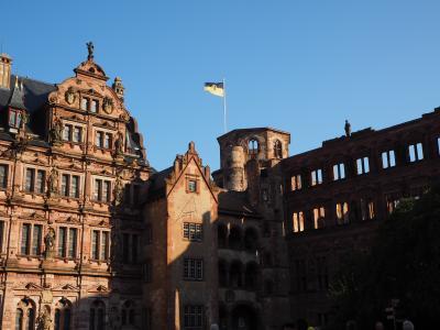 古城の街、ハイデルベルグ観光