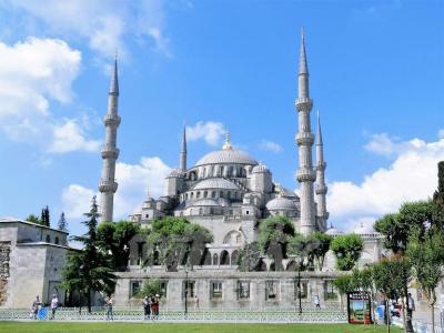 2013年トルコ家族旅行記16~飛んでイスタンブール編5【ブルーモスク】