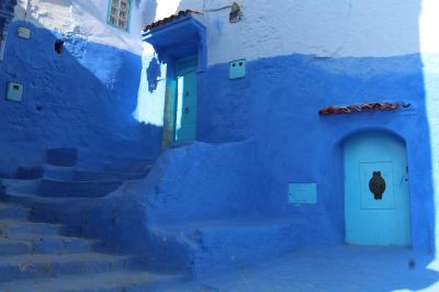 モロッコ 幻想的な街 シャウエン
