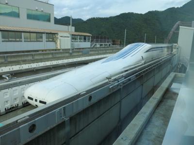 超電導リニア新幹線体験乗車