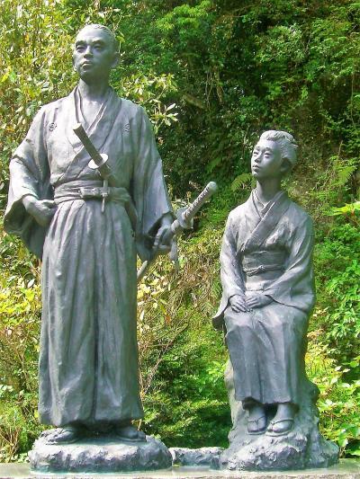 日本初の新婚旅行:龍馬ハネムーンロード(塩浸温泉~霧島神宮)
