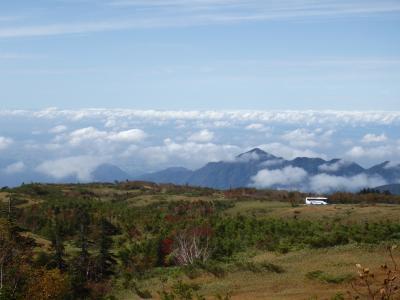 [2017年10月] 3連休の立山、ポカポカ陽気で快適な弥陀ヶ原高原散策。