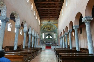 イタリア三都市 + イストラ半島ドライブ #14 : ポレチュ、世界遺産の聖堂