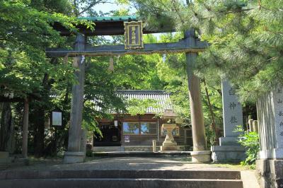 熊野古道紀伊路の入り口 藤白神社(境内社 有間皇子神社)、西国三十三か所第二番霊場 紀三井寺
