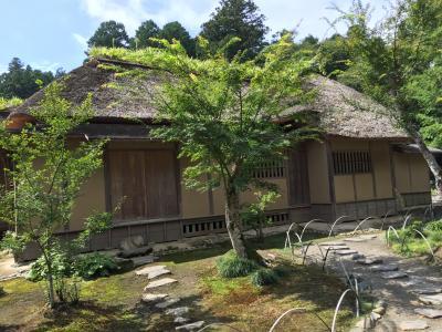 西山荘 水戸黄門様 ご隠居所 素晴らしい庭園に暫し、ひと息