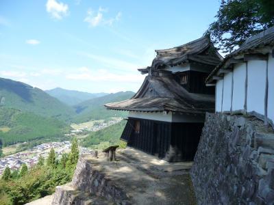 2017 10 波賀城  原不動の滝  引原ダム