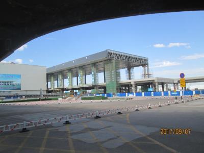 哈爾濱の太平国際空港(帰路)