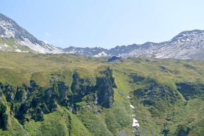 2017年 チロルでハイキングと街歩き 夫婦二人旅(4)Ahornのエーデルヒュッテをめざしハイキング