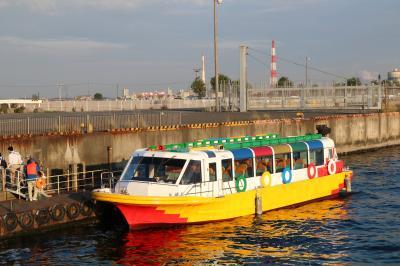 名古屋に新しい水上バス「クルーズ名古屋」が誕生!②ささしまライブ⇒ガーデンふ頭⇒金城ふ頭
