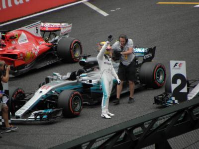 2017年10月 F1日本GP(鈴鹿) 土曜日 フリー走行3、予選