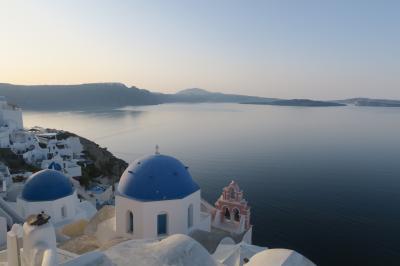 ギリシャ旅行①朝のイア散策