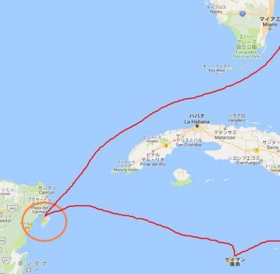 2017年 ディズニー・クルーズ西カリブ海7日間(10)コスメル島(メキシコ)