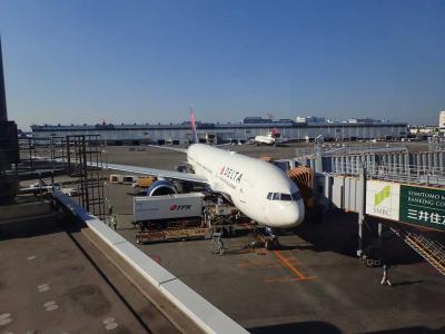 上海ディズニー1☆デルタ航空 成田~上海浦東・リニアと地下鉄でディズニーへ