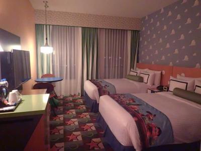 上海ディズニー2☆トイストーリーホテル