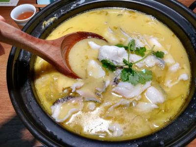 2017年 9月 春秋航空で行く重慶&成都火鍋食べ比べの旅 5日目 重慶郊外の龍興古鎮と酸菜魚編