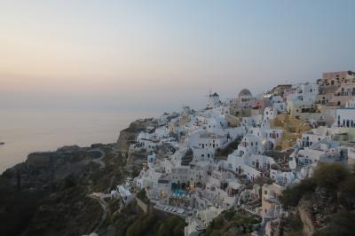 ギリシャ旅行③イアの夕陽