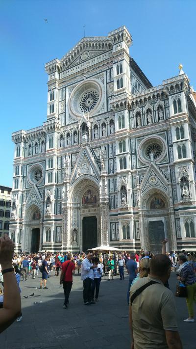 母娘、4度目のイタリア旅行ほんの少しヘルシンキ ミラノ~フィレンツェ編