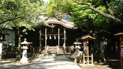 今日は、埼玉県川口市内 神社めぐり! 運気アップアップ。
