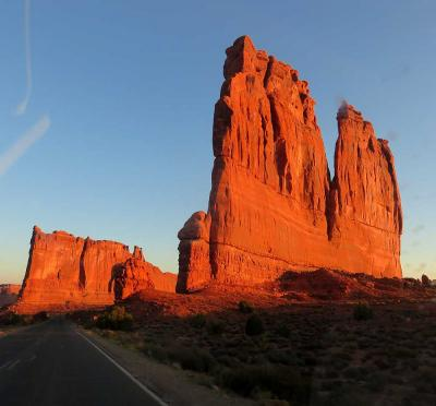 団塊夫婦の2017年アメリカ国立公園ドライブ旅行ー(6)大自然の創造力に驚嘆・アーチーズ国立公園