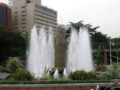 横浜・赤レンガ倉庫・横浜中華街・山下公園・散策  3-3 山下公園界隈
