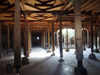 イスラムのオアシス都市のヒヴァ