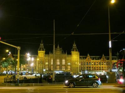 欧州鉄道旅2017☆16アムステルダム街歩き・・・そして偽警官に会う