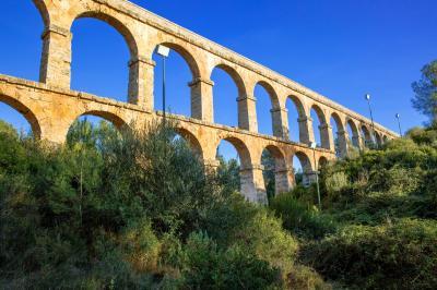 スペインの世界遺産(セゴビアの水道橋)