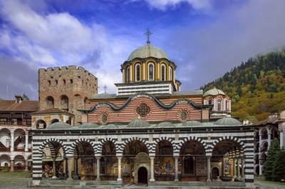 ブルガリアの世界遺産(リラの修道院)