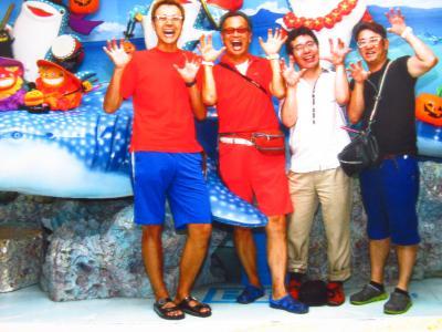 沖縄へ気の合う仲間旅
