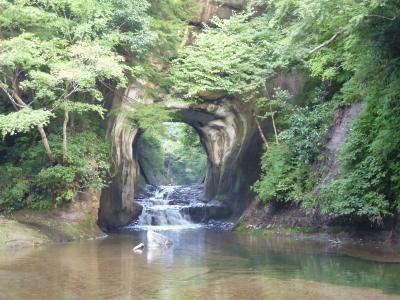 *不思議なグリーンの世界*向山トンネル・養老渓谷・亀岡の洞窟(濃溝の滝)