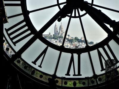 ロンドン・シャモニー・パリの旅  * 最終編・モネの睡蓮を観にパリに来ました *