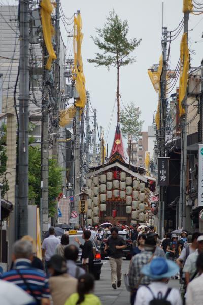 祇園祭 後宵山漂流