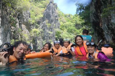 """駐在のついでに 【その52】 フィリピン遠征⑮ エルニド3日目 Tour A で、まずは""""Small Lagoon""""へ!"""