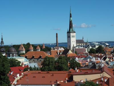 バルト三国を車でドライブしてみた ③ エストニアの街歩き