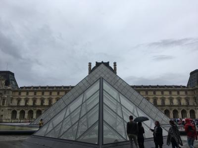 2017.08 スペイン・フランス⑦ パリと言ったらルーブル美術館だよね