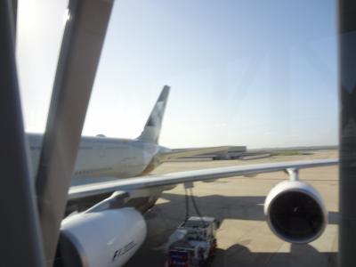 2017.08 スペイン・フランス⑧ エティハド航空A380ビジネスクラスで帰国します