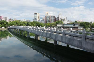 福岡旅行2017 1-1 大濠公園、福岡城をぶらぶら