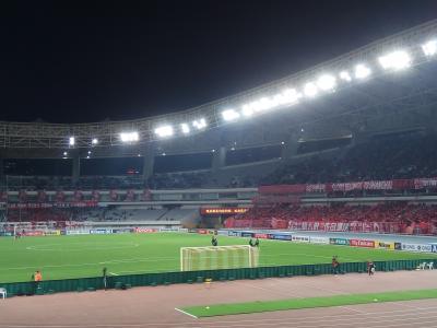 ACLアウェイ遠征+観光 in 上海 その1(上海市内観光~試合 上海上港vs浦和レッズ)