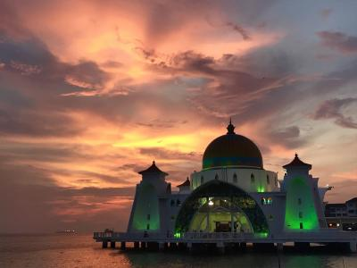 マレーシアでモスク三昧2!3日目(マラッカ)