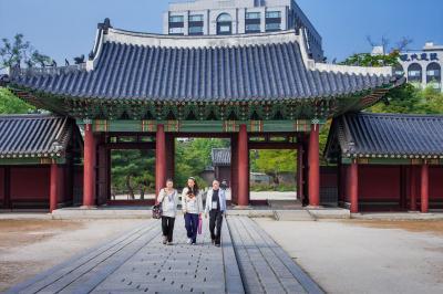 韓国の世界遺産ソウルの昌徳院