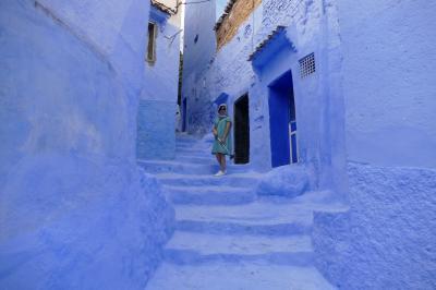 シャウエン(Chefchaouen:Morocco)「青い街とでんでん虫のスープ」