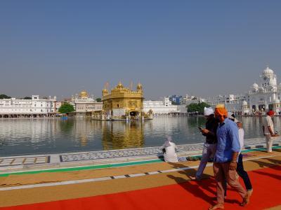インドに行こう!その4 アムリトサル「黄金寺院」とワガ「パチスタン国境」