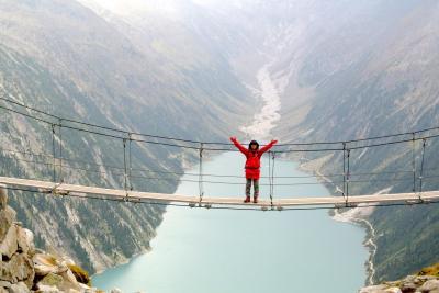 2017年 チロルでハイキングと街歩き 夫婦二人旅(5)再びオルプラーヒュッテOlpererhütteへ登ってきた!
