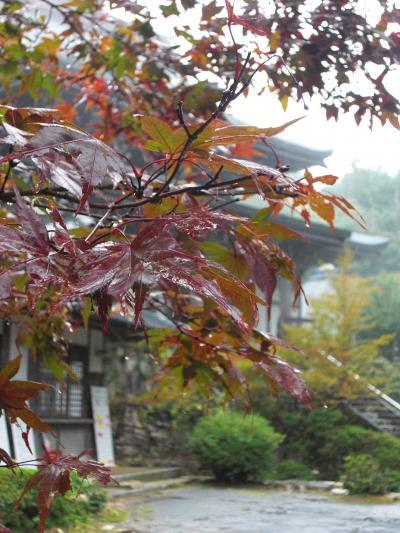 秋の福王寺~色づく景色はもうすぐです~