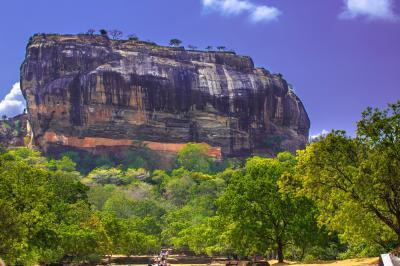 スリランカの世界遺産シギリアロック