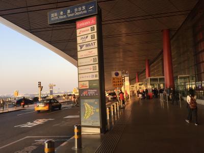 2017年 10月 初めての中国(でも、北京空港だけ)と、Air China ビジネスクラスラウンジ、そして、アシアナ航空ビジネスクラス搭乗記 OZ PEK ICN 夫婦で2回目のヨーロッパ旅行記 その9